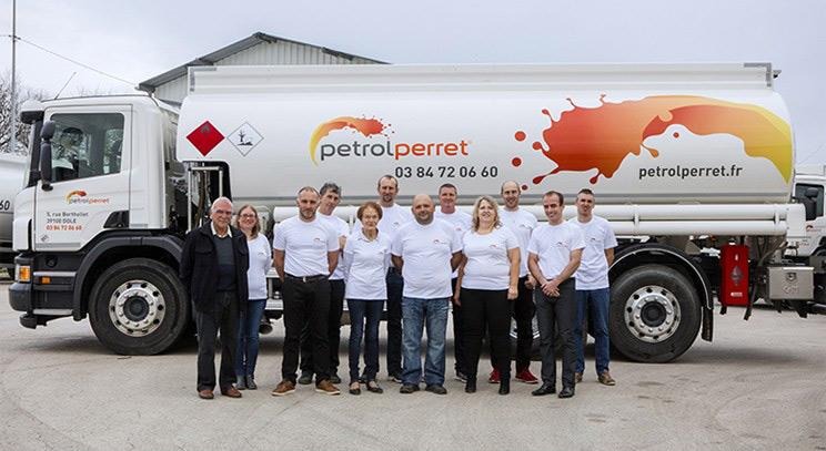 L'équipe de PETROL PERRET