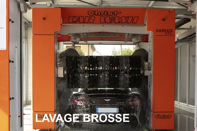 Lavage Brosse